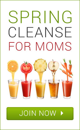 spring cleanse for moms